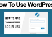 how do i find my wordpress login url