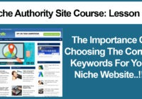 Niche Market Keyword Research