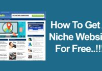 how to get a niche website for free