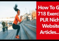 exercise plr articles