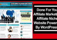 Affiliate Marketing Affiliate Niche Website