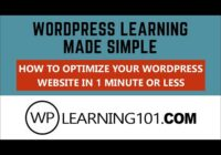 How To Optimize Your WordPress Website Database In 1 Minute Or Less [Made Simple]