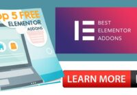 Top 5 Elementor Addons To Build Incredible Pages In WordPress